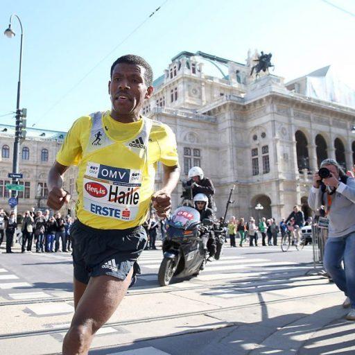 a612c5488c6355 Äthiopiens Superstars Haile Gebrselassie und Tirunesh Dibaba laufen 10 km  in Manchester