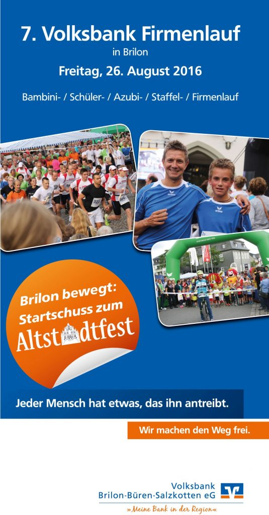 Teilnehmerrekord beim Firmenlauf in Bad Driburg