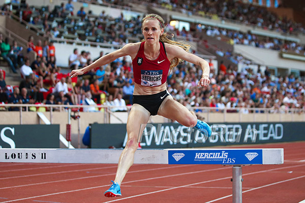 d65c56bb0f Courtney Frerichs breaks American steeplechase record at Monaco Diamond  League – USA Track   Field